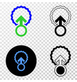insemination eps icon with contour version vector image vector image