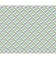 Lines vintage pattern Green vector image vector image