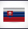 siding produce company icon slovakia vector image