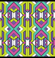 abstract art geometric seamless pattern vector image vector image