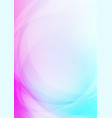 abstract curved on colorful background vector image vector image