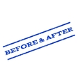 Before After Watermark Stamp vector image vector image