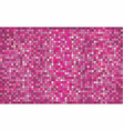 pink abstract mosaic background vector image vector image