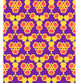 purple violet red orange abstract geometric vector image