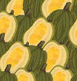 seamless background jackfruit vector image
