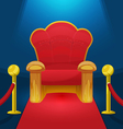 Theater Chair Watch Movie Luxury vector image