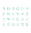 design tools icon artwork web design typography vector image