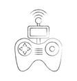 drone remote control icon vector image vector image