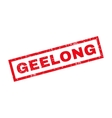 Geelong Rubber Stamp vector image vector image