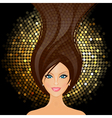 girl in club vector image
