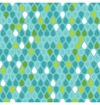 Multicolor raindrops seamless pattern vector image