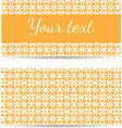 set of abstract template banners with space for vector image vector image