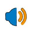 speaker icon image vector image vector image