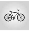 The bicycle icon Bike symbol Flat vector image vector image