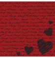 Valentines scrapbooking card vector image