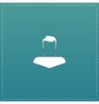 boy icon head silhouette vector image vector image