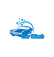 car wash icon isolated on white background vector image vector image