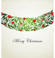 Christmas seamless ornament vector image vector image