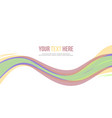 collection abstract header website design vector image vector image