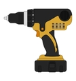 Electric drill Color vector image vector image