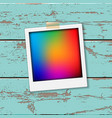 instant vintage photos frames vector image vector image