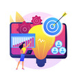 project initiation abstract concept vector image vector image