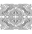 seamless ripple pattern repeating texture wavy vector image