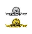 drift-logo vector image vector image