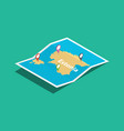 estonia explore maps with isometric style and pin vector image