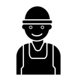 labor man - worker - builder icon vector image