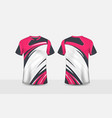 pink white and black pattern layout e-sport design vector image vector image