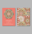 set of cards flyers brochures templates with vector image vector image