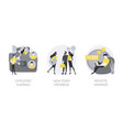 teamwork abstract concept vector image vector image