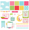 Design Elements - Baby Bunny Sweet vector image vector image