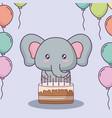 happy birthday design vector image vector image