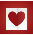 happy valentine day design vector image