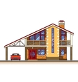 House cottage graphics vector image vector image
