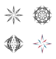 Logo star of Bethlehem vector image