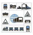 railway vector image