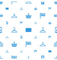 retail icons pattern seamless white background vector image vector image