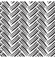 seamless brush lines pattern herringbone vector image