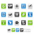 Social Media Clean Series vector image vector image