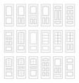 big set door ideas big set combination vector image