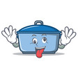 crazy kitchen character cartoon style vector image vector image