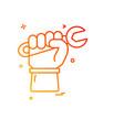 labour day icon design vector image