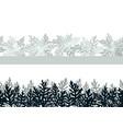 plant cineraria maritima seamless vector image vector image