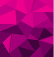 polygon background purple vector image