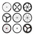 wheel byc3 vector image