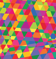 geometric pattern triangles background polygonal vector image