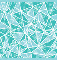 abstract mint green christmass snowflakes vector image